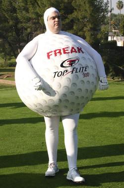 Golfball costume
