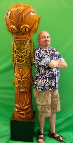 Blaisdell Tiki Totem