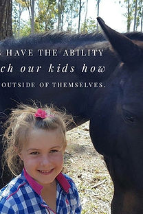 Anti Bullying | Youth with horse