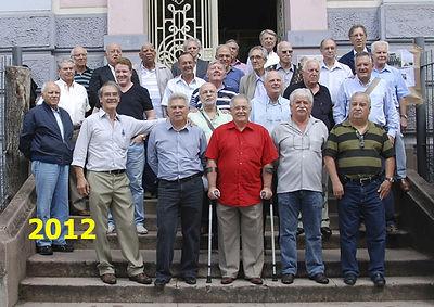 Turma de formandos de 1962 da Escola Técnica Parobé