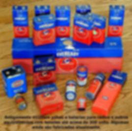 Pilhas e baterias Eveready