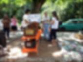 Feira de antiguidades no Brique da Redenção em Porto Alegre, Rio Grande do Sul