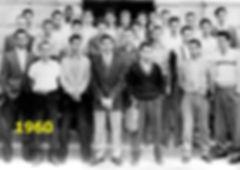 Formandos da Escola Técnica Parobé ano 1962