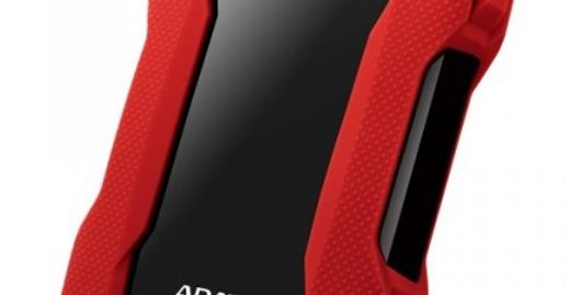 Disco Duro Externo Adata HD330 2.5'', 1TB, USB 3.1, ROJO - para Mac/PC