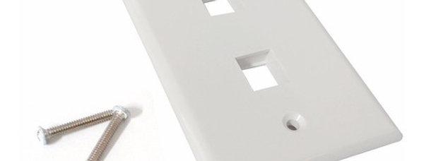 Placas de 1 y 2 puertos