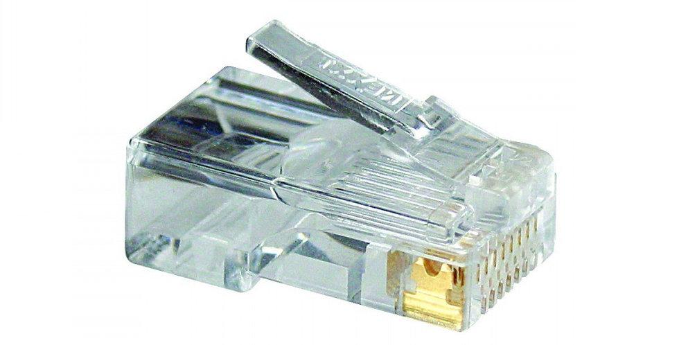 Conectores Rj45 Cat6 X Unidad