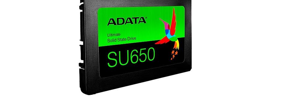 DISCO DURO DE ESTADO SÓLIDO SSD ADATA ULTIMATE SU650, 250GB