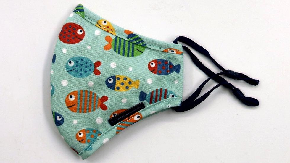 Kids Size Mask, Fishies