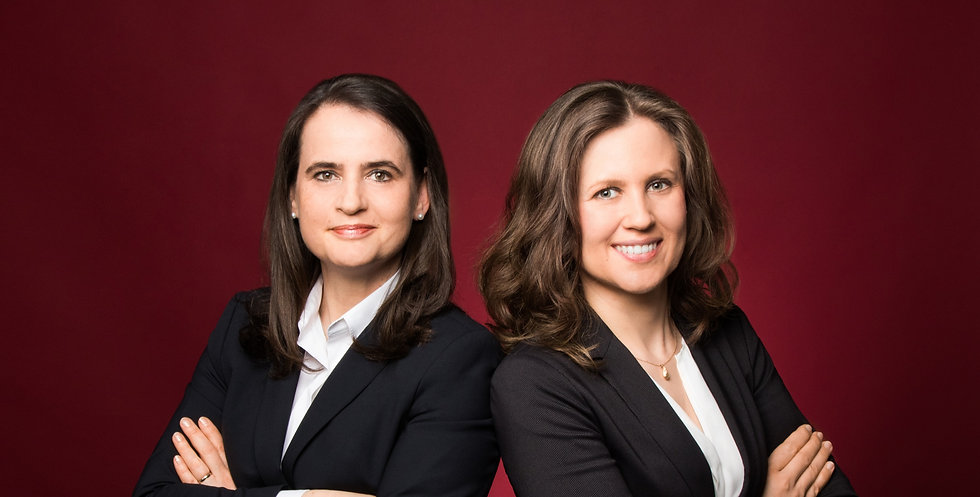 Frau Rechtsanwältin Kathrin Sommerburg und Frau Rechtsanwältin Julia Raab