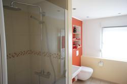 Ferienhaus bad mit dusche