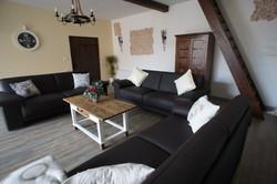 Eifel ferienhaus Großes Wohnzimmer