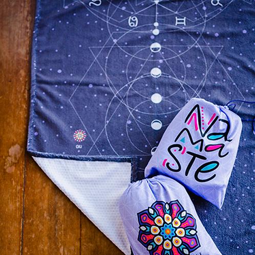 Toalha de Yoga Astrologia