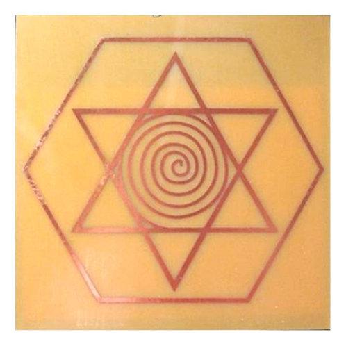 Placa radiônica - Desembaraçador de relacionamentos