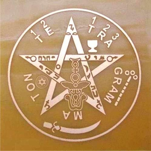 Placa radiônica - Tetragramatom