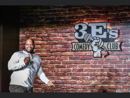 3 Day show at 3E's Comedy Club