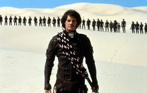 Kyle MacLachlan in 'Dune'.