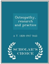 Osteopathy - Research and Practice (AT S