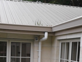 Having a gutter cleaning maintenance program to remove debris and leaves to minimize damage to your