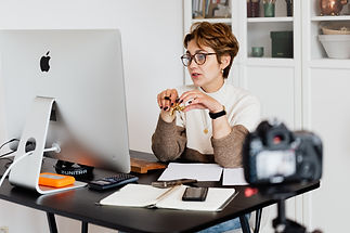 woman working on announcement.jpg
