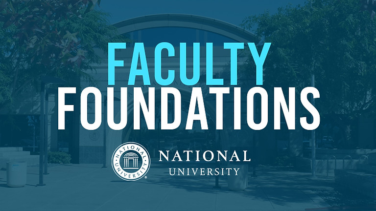 Blackboard Faculty Foundations