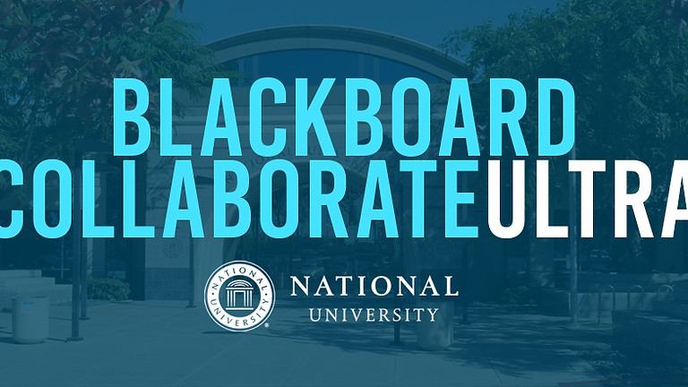 Blackboard Collaborate Ultra Module
