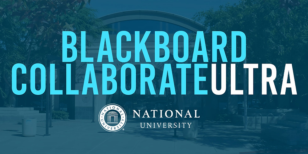 Blackboard Collaborate Ultra Tutorial