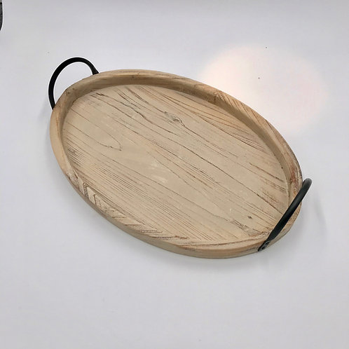 Oval Wood Tray  Small