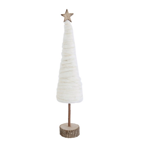 Small Wool Christmas Tree
