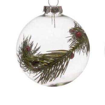 Round Glass Ornaments (2)
