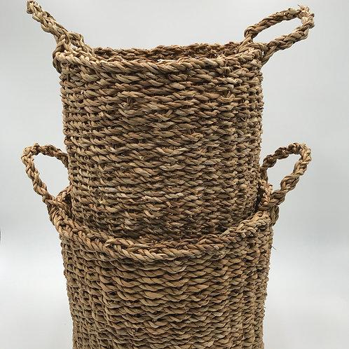 Natural Hacienda Basket Set of 2