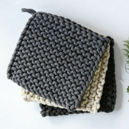 Cotton Crocheted Pot Holder (3)