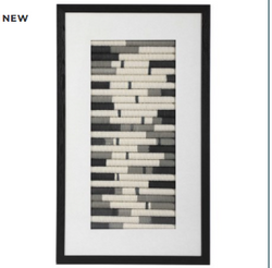 Flaxen Scroll Wall Panel