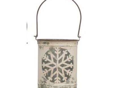 Metal Snowflake Lanterns (M)