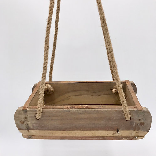 Wood Brick Mould Hanging Planter