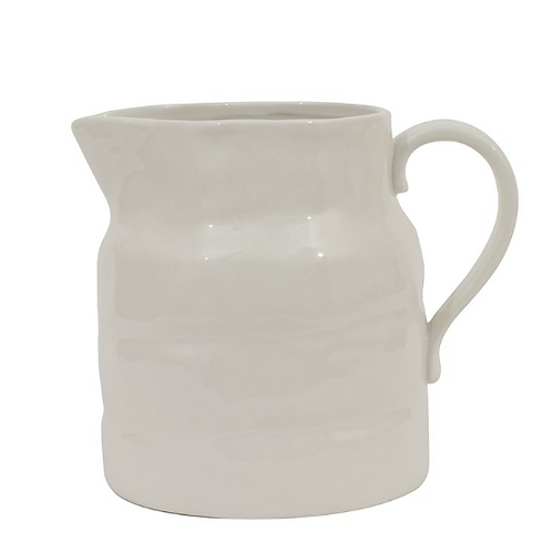 Stoneware Pitcher (L)