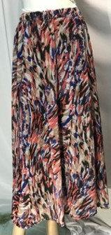 Modest Skirt Pinata Orange