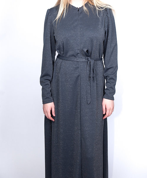 Modest Robe Front Zipper Solid
