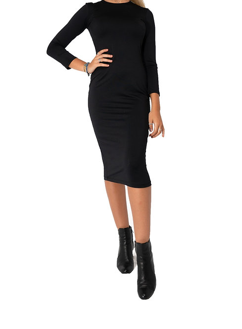 Black Shell Dress