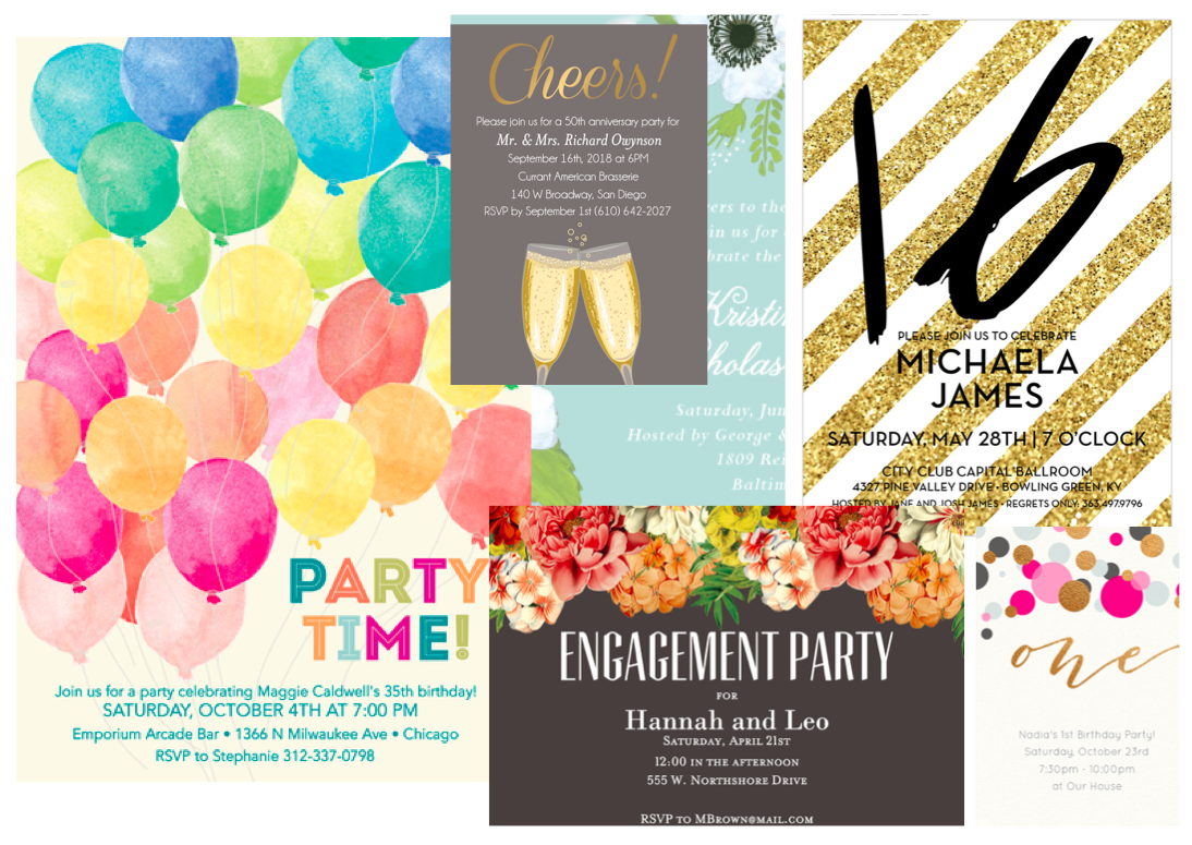 8 Online Invitations Websites For Your Party