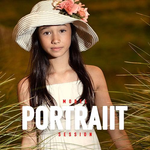 Model Portrait Session