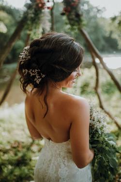 summer wedding hair