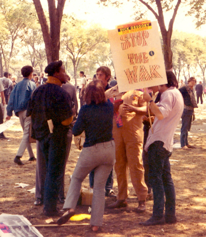Grant Park protesters.