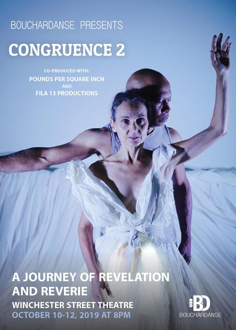 BoucharDanse - Congruence 2 - Postcard -