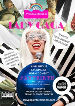 Gaga showers poster