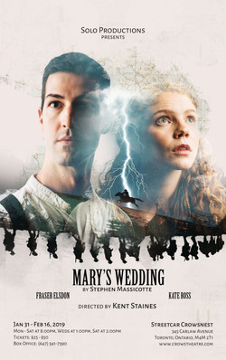 Marys Wedding Poster 11x17