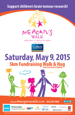 Meagan's Walk Poster 2015