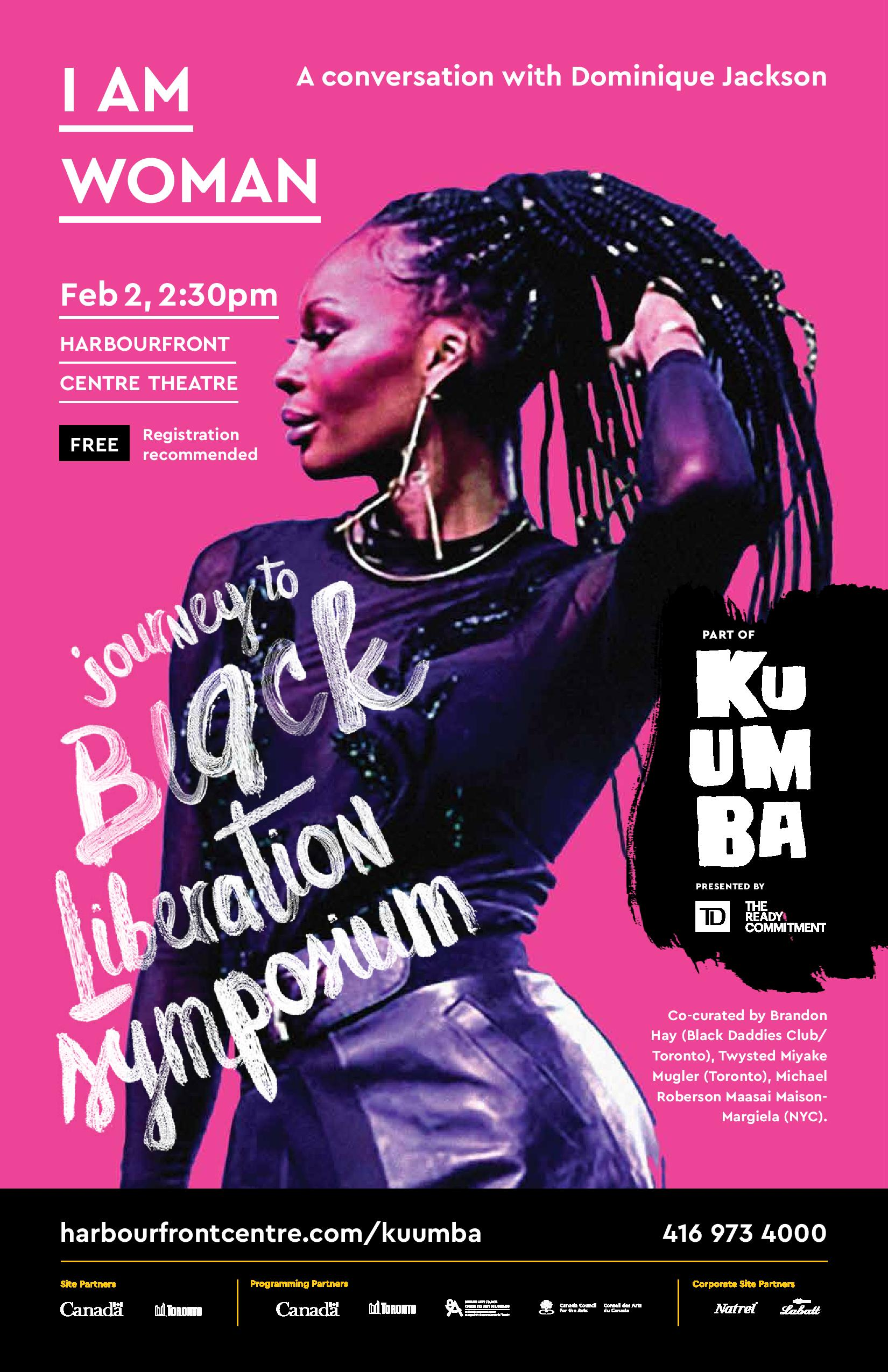 Kuumba 2019- Dominique Jackson posters(1