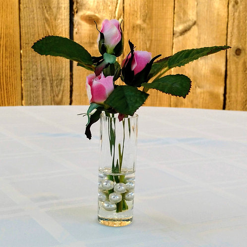 Flower arrangement, rosebud arrangement, summer flowers