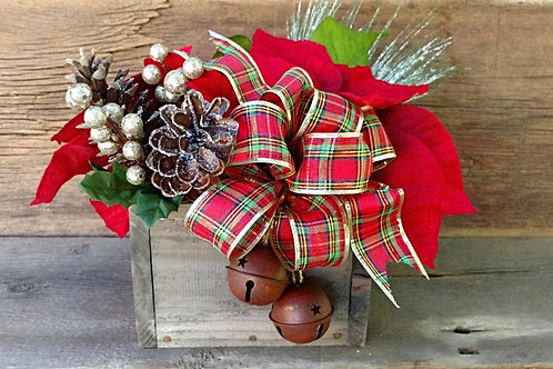 Christmas Plaid Centerpiece (Small size is shown)
