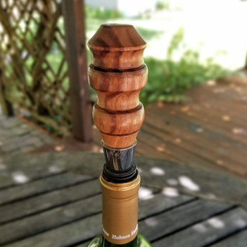 Bolivian Rosewood Wine Bottle Stopper